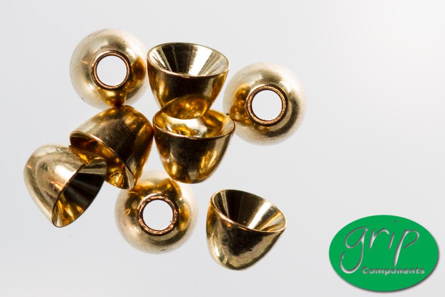 Brass Cones – Gold
