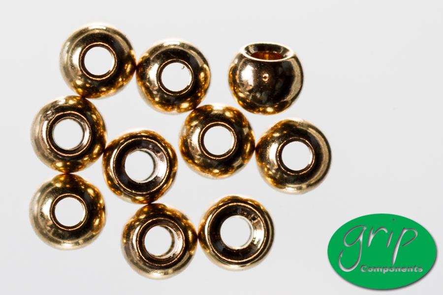 Brass Beads – Gold