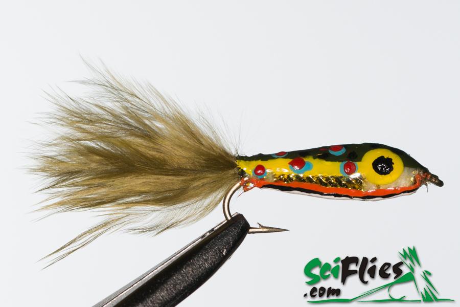Mylar Minnow – Brown Trout