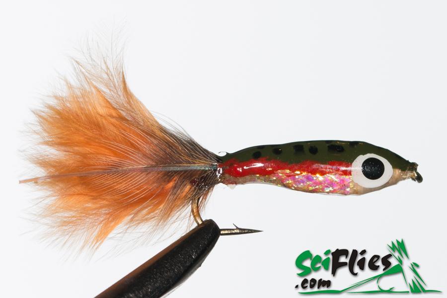 Mylar Minnow – Rainbow Trout