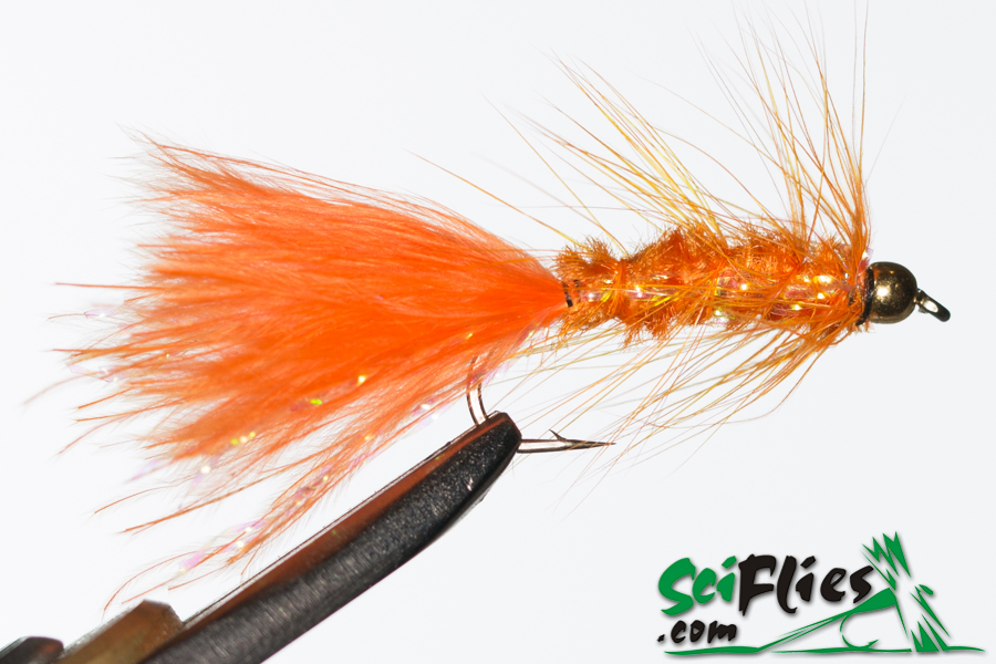 Woolly Bugger – Orange