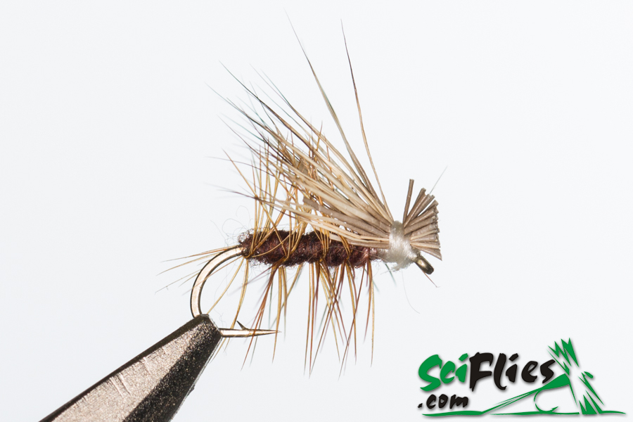 Elk Hair Caddis – Brown