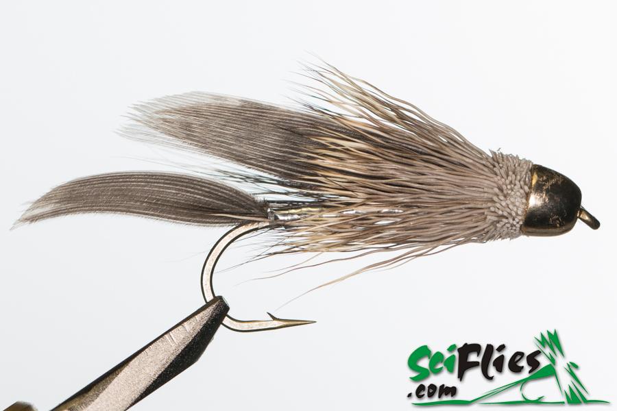 Muddlers Minnow  (Brass Cone) – Natural