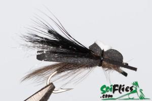 Foam WIng Hopper - Black