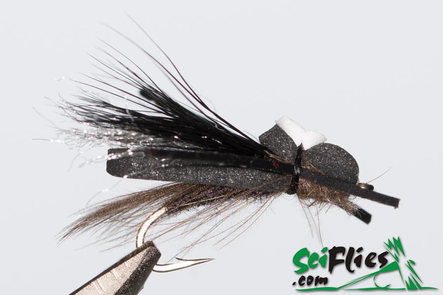 Foam WIng Hopper – Black