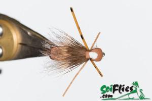 Foam Wing Hopper - Brown