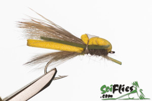 Foam Wing Hopper - Yellow