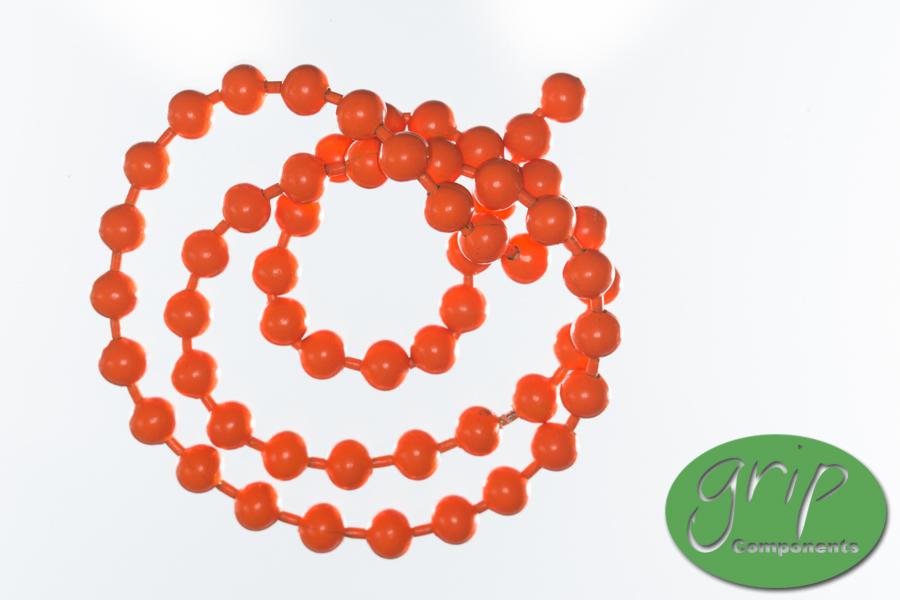 Bead Chain – Hot Orange