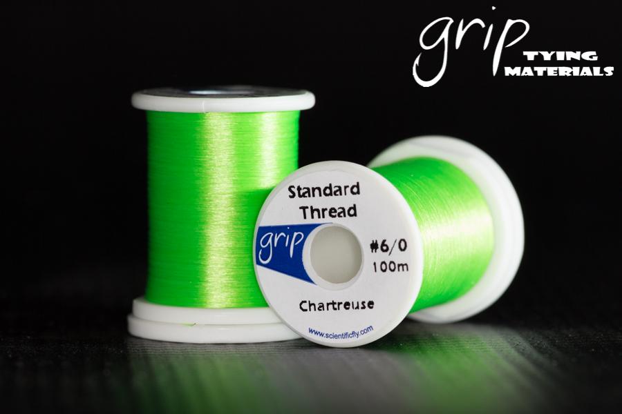 Grip Standard Thread #6-0 – Chartreuse