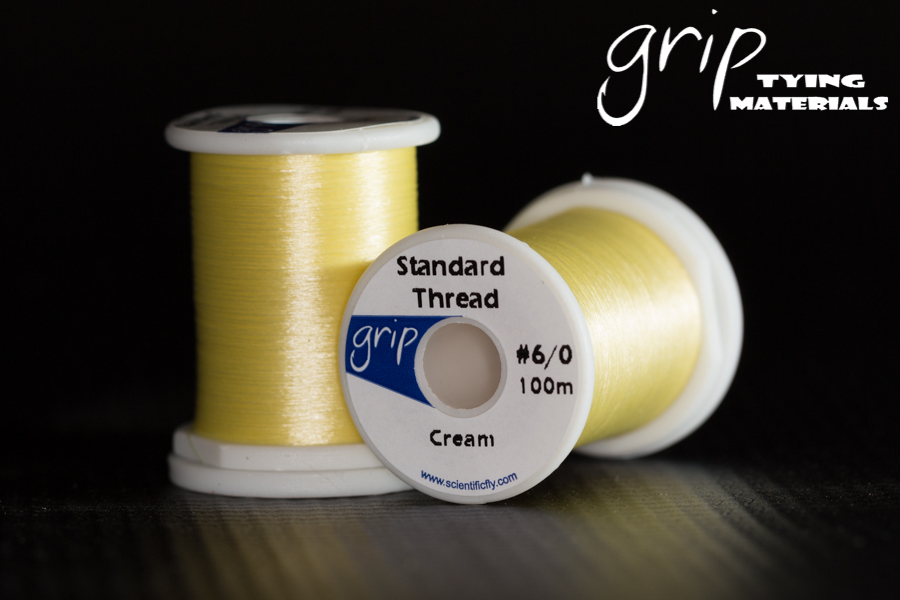 Grip Standard Thread #6-0 – Cream