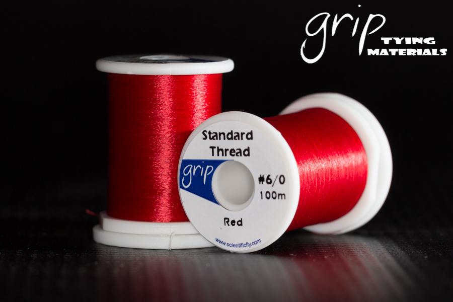 Grip Standard Thread #6-0 – Red