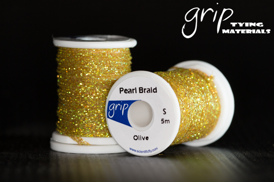 Pearl Braid – Olive