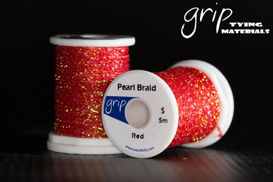 Pearl Braid – Red