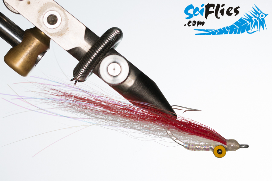 bucktail-clouse-red-white