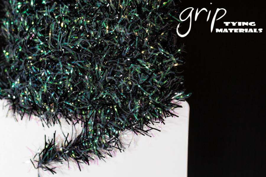 Cactus Chenille 15mm – Black