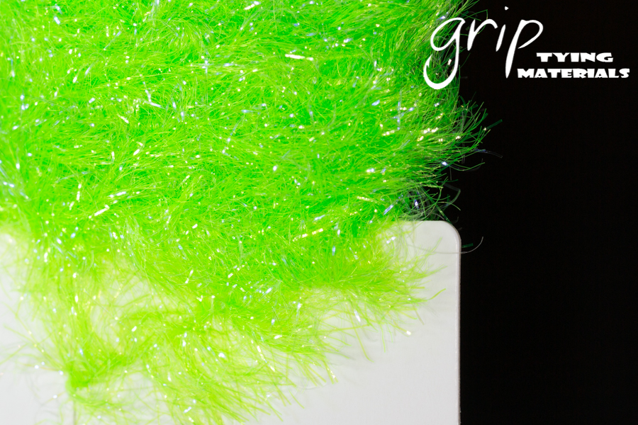 Cactus Chenille 30mm – Chartreuse UV