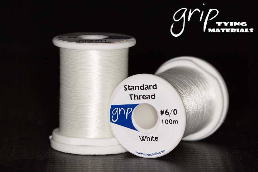 Grip Standard Thread #6-0 – White