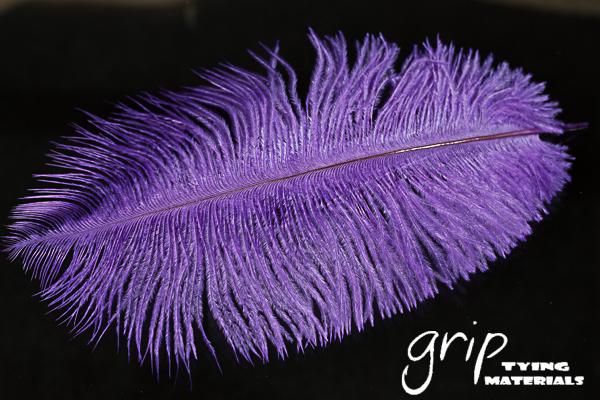 Ostrich Plumes 9 – Purple