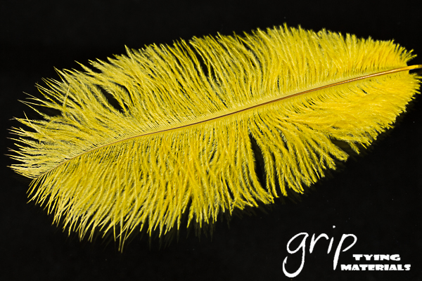 Ostrich Plumes 9 – Yellow