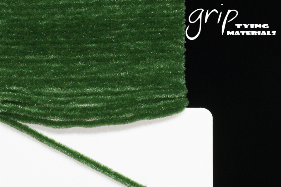 Suede Chenille – Olive