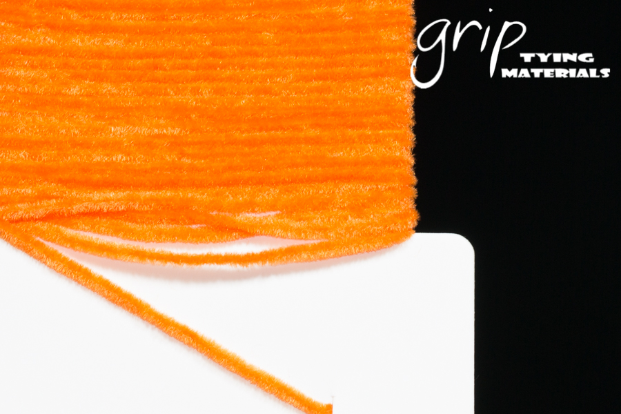 Suede Chenille – Orange