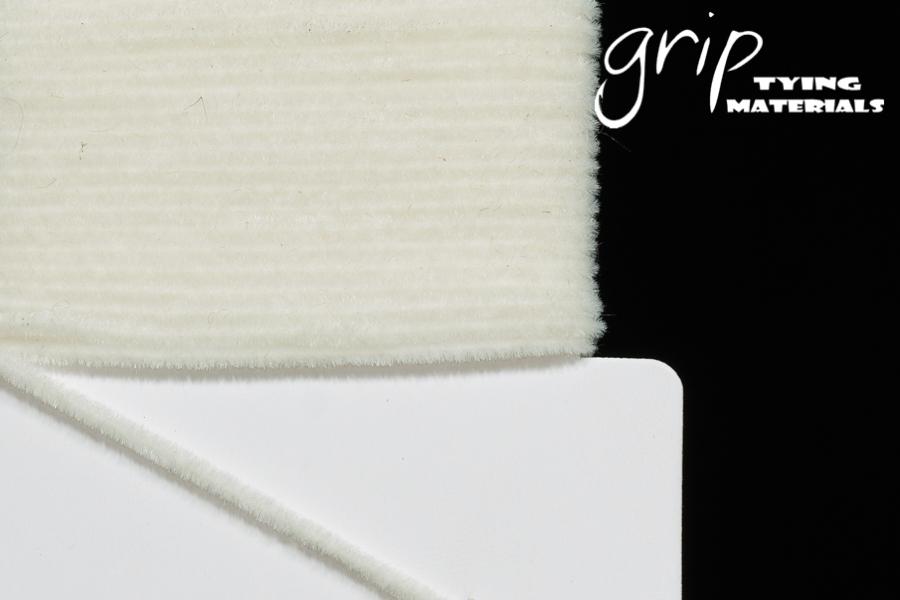 Suede Chenille – White