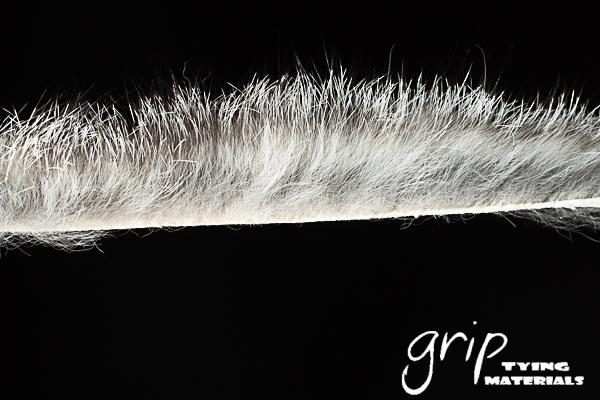 Zonker Strip CCut 1-8 – Natural Grey