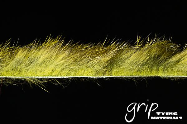 Zonker Strip CCut 1-8 – Olive Chinchilla