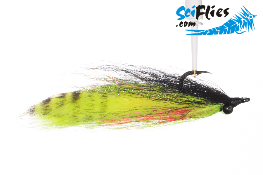 Bunny Clouser – Black Chartreuse