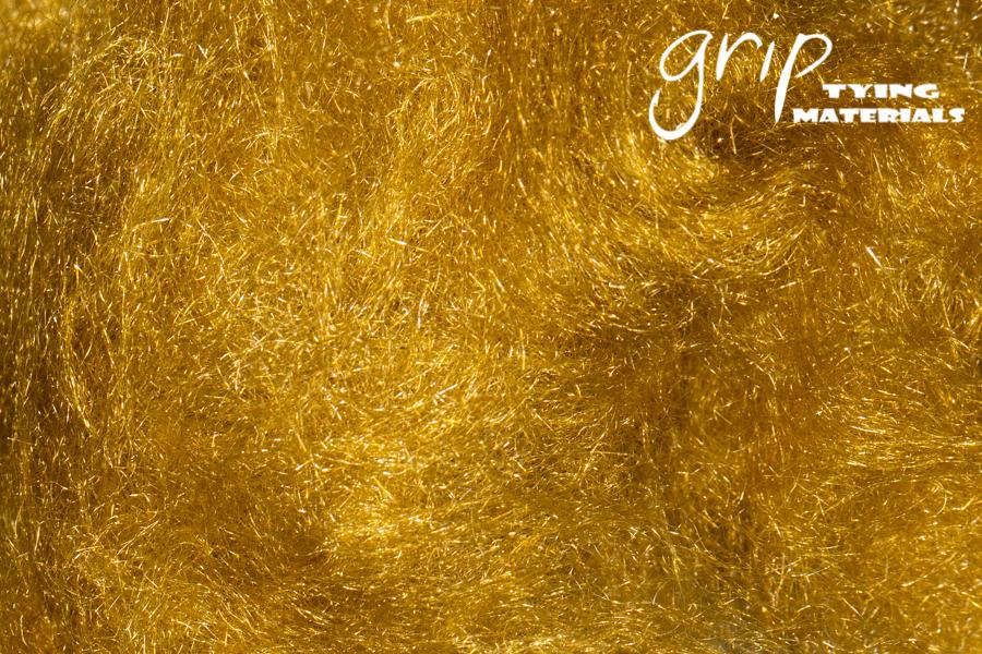 Super Fine Trilobal Dubbing – Golden Olive