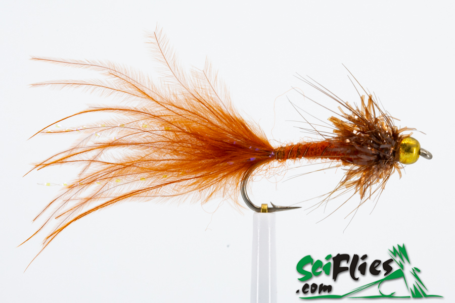 Gold Bead Damsel – Brown