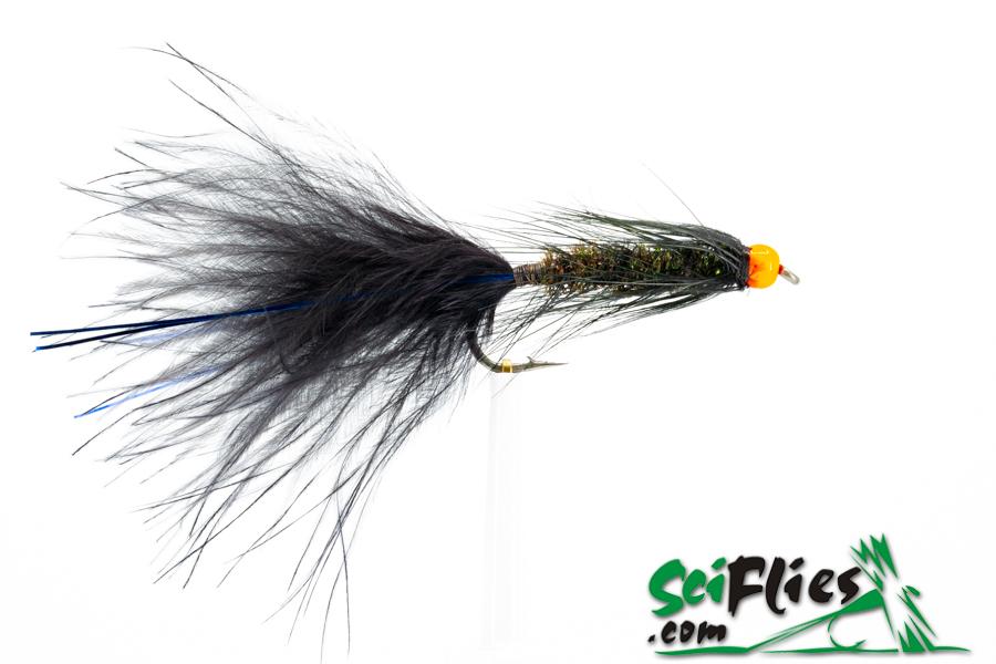 Woolly Bugger – BlackPeacockOrnage